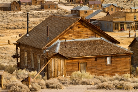 ghost town Bodie nevada photo