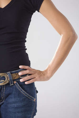 Midsection of a woman. Stock Photo - 3083904