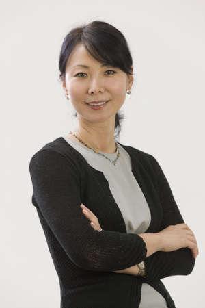 Portrait of Asian woman executive