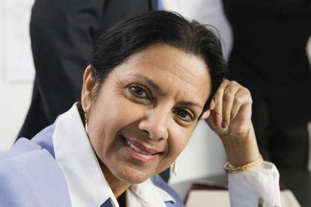 Portrait of a mature businesswoman. photo