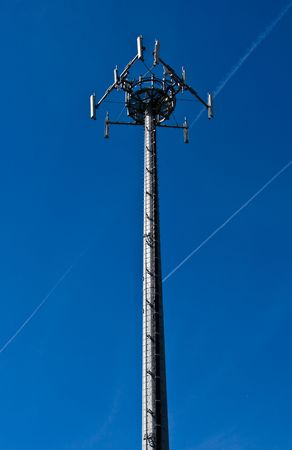 Digital telecommunications cells on a tower