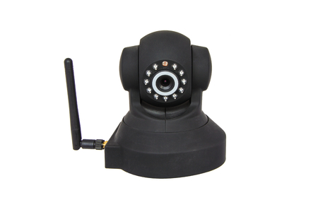 Wireless IP camera with infrared sensors