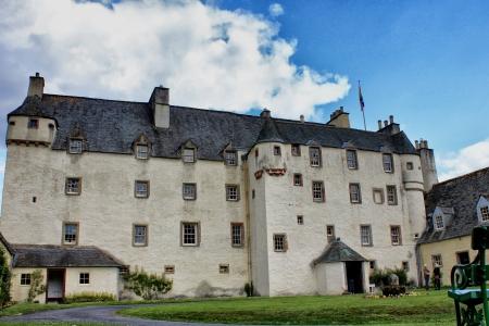 the jacobite: Traquair House, Scottish Borders, Scotland Editorial