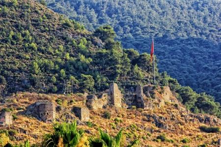 fethiye: Fethiye Fort, Fethiye, Mugla, Turkey Stock Photo