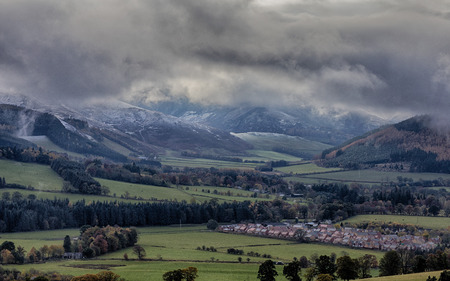 uplands: First Snow- Snow falls on the Southern Uplands of  Scotland