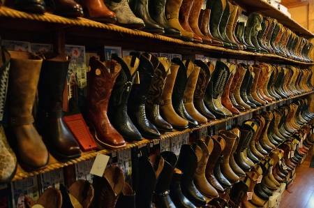 Cowboy boots collection