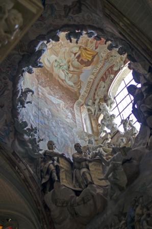 El Transparente, indoor Cathedral of Toledo by Narciso Tome Editorial