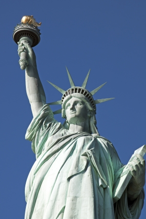 Statue of Liberty complete closeup photo