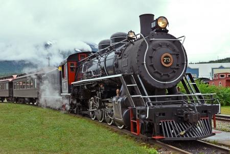Steam train 免版税图像