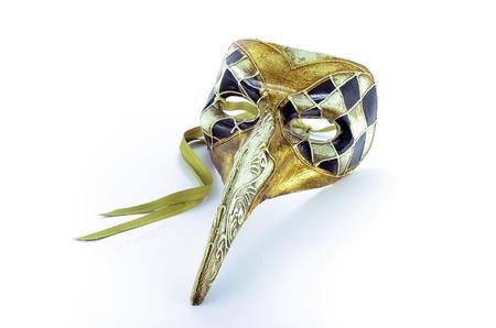 Long nose venetian mask