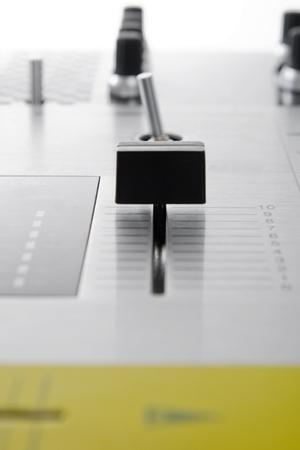 crossfader: Regulators of audio mixing controller
