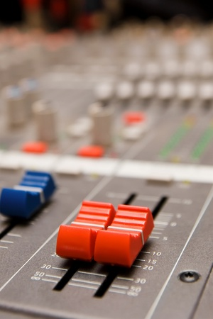 Close shot of professional audio recording equipment for multiple purposes Stock Photo - 8647686