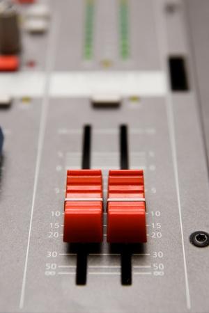 Close shot of professional audio recording equipment for multiple purposes Stock Photo - 8647687