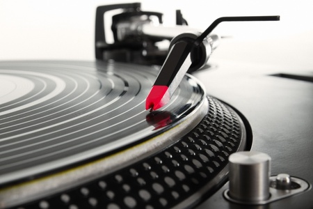 giradisco: Apparecchiature audio professionali analogiche Archivio Fotografico