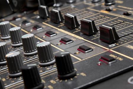 Top class audio equipment for a disc jockey photo