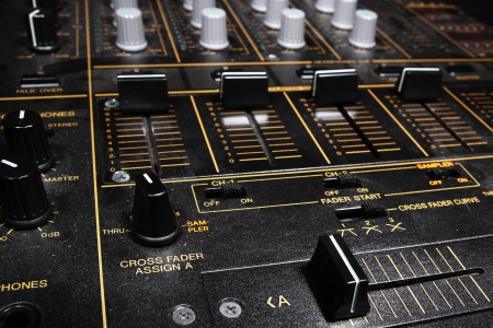 regulators: Professional djying equipment in the dark - 4channel club sound mixer