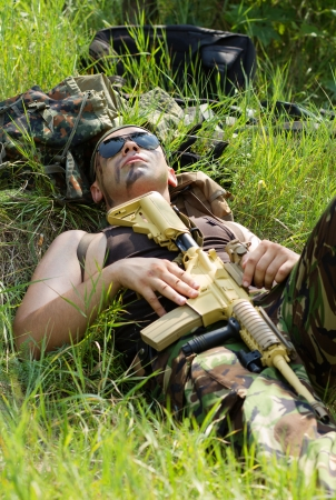 Every war has some time to take a rest Stock Photo - 15380217