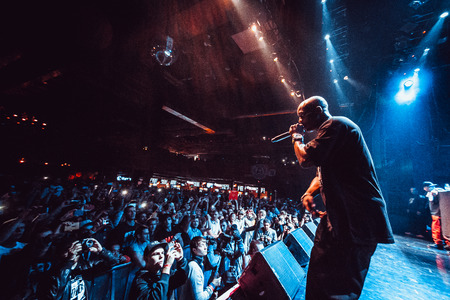 earl: Earl Simmons aka DMX performing live at Glavclub in Moscow, Russia on 18th of September, 2014 Editorial
