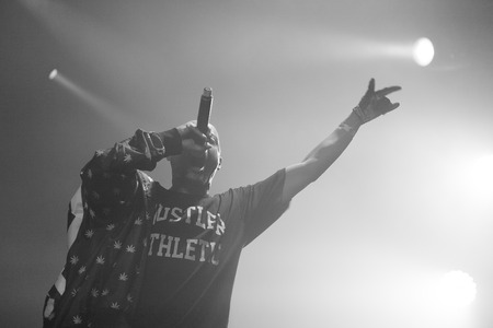 dope: Dope D.O.D performing at Ray Just Arena nightclub in Moscow, Russia on 20 February 2015