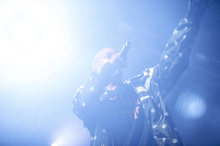 dubstep: Dope D.O.D performing at Ray Just Arena nightclub in Moscow, Russia on 20 February 2015