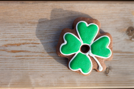 and saint: Cookie clever for Saint Patricks Day celebration