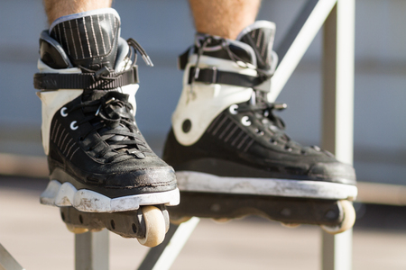 blader: This aggressive inline skates are built for grinding rails and ledges, and jumping on ramps