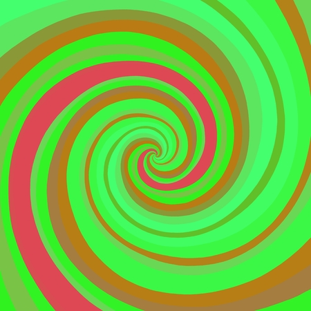 generating: Psychadelic radial abstract illustration background Stock Photo