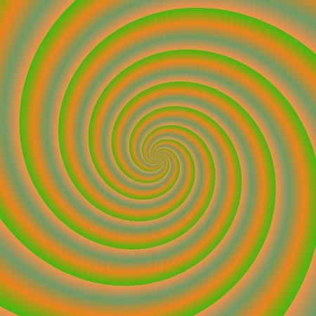 wormhole: Psychadelic radial abstract illustration background Stock Photo