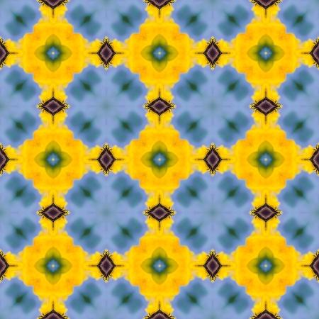 generative: Mosaic kaleidoscopic seamless hires texture or background