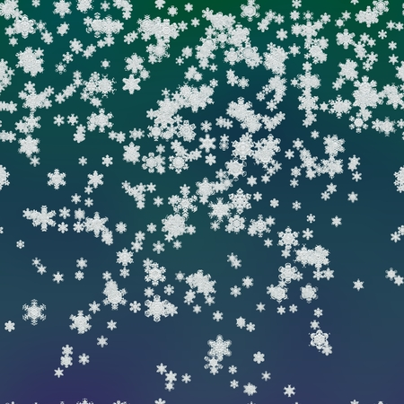 hyperspace: snowflakes snowy generated neon blue background texture Stock Photo