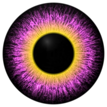 generated: Eye iris generated realistic color Stock Photo