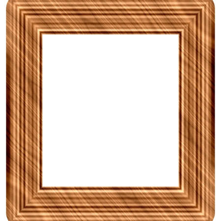 generated: Wooden frame generated isolated background