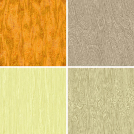 Set of wood textures,seamless backgrounds in four different color variation