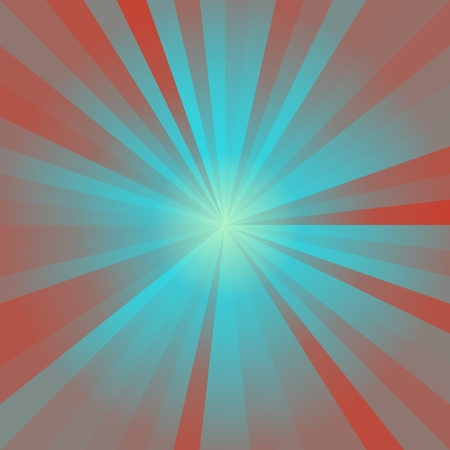 star burst: Abstract background of blue colorful star burst rays illustration