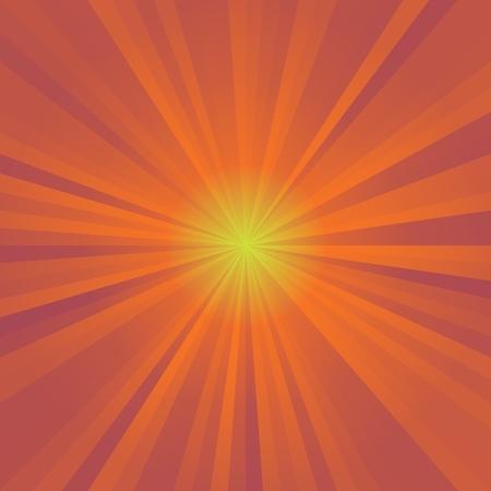 orange color: Abstract background of orange colorful star burst rays illustration