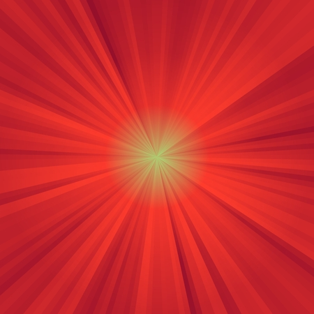 star burst: Abstract background of red colorful star burst rays illustration Stock Photo
