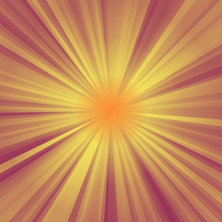 star burst: Abstract background of orange colorful star burst rays illustration