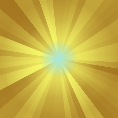 orange color: Abstract background of yellow gold colorful star burst rays illustration Stock Photo
