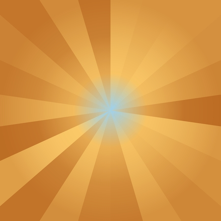 star burst: Abstract background of yellow gold colorful star burst rays illustration Stock Photo