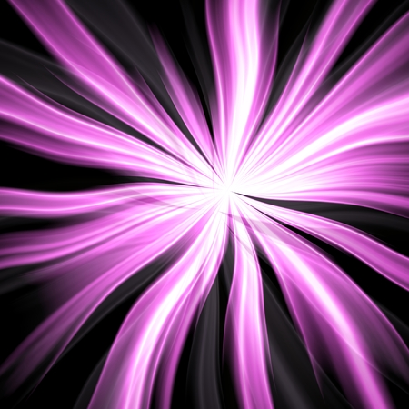 bewitch: Plasmatic violet power ball rays bursts background illustration