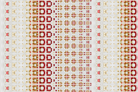 generative: Kaleidoscopic mosaic seamless texture or background