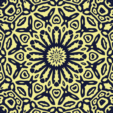 generative: generated kaleidoscopic mosaic seamless texture or background or wall
