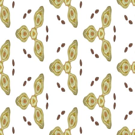 kaleidoscopic: Kaleidoscopic wallpaper tiles. Seamless texture