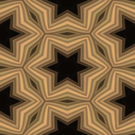 generative: India Kaleidoscopic mosaic seamless wallpaper or background Stock Photo