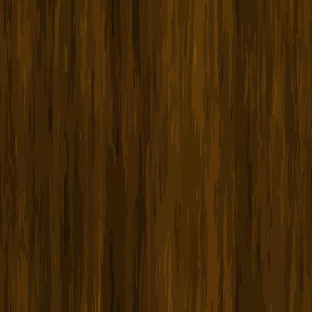 veneer: High quality Vector seamless wood texture. Dark hardwood part of parquet. Wooden striped fiber textured background. Old timber panel. Close up brown grainy surface plywood floor or furniture. Illustration