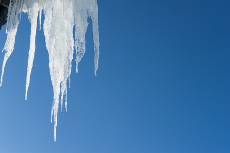 icicles: long icicles