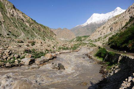 mud and snow: Muddy River & Nanga Parbat