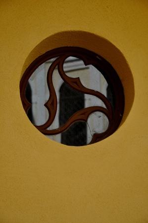 Round window Stock Photo - 13446088