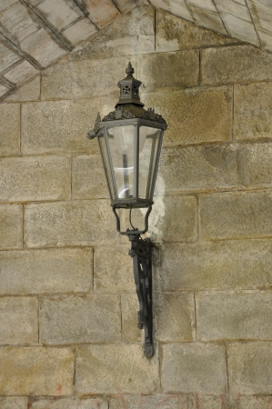 Castle lamp photo