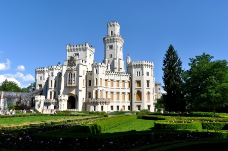 nad: Castle Hluboka nad Vltavou